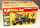 1965 HASBRO GI JOE OFFICIAL JEEP COMBAT SET STUNNING MINT SEALED IN BOX RARE