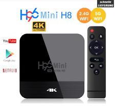 H96 Mini H8 Android 9.0 Smart Tv Box 2GB 16GB 4K BT Wifi 5G Media Player EU