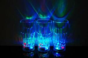 3 Mode Light Up LED Cola Glasses- Fast USA Shipping!