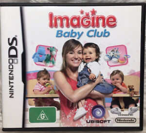 Nintendo DS Game - Imagine Baby Club - Complete With Manual