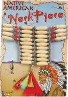 Morris Costume Native American Indian Necklace Costume Jewelry. FM58496