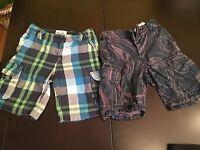 2  Gap & P.S Boys Shorts  Size 7 Years Retail $65