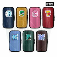 BTS BT21 Official Authentic Goods P-POCKET Ver2 7Characters By Monopoly + Track