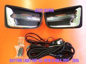 [IM] LED Daytime Light Fog Lamp Light Cover ISUZU ALL NEW D-MAX DMAX 2012 - 2015