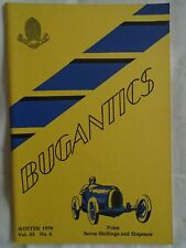 Bugantics Winter 1970 Vol 33 No 4