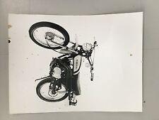 Kawasaki 100cc G5 Original advertising photo B&W