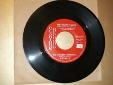 NM Garage Rock 45 Rockin' Ramrods Claridge 301 Don't Fool With Fu Manchu /Stones
