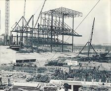 NEW YORK YANKEE STADIUM GOING UP IN 1922 THE BUILDING OF THE UPPER DECK FACADE