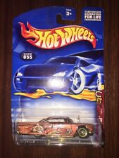 2002 Hot Wheels #055 Wild Frontier 1of4 59 Chevy Impala Brown Lt Tint Window NEW