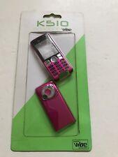 Sony Ericsson K510 Full Fascia Housing Cover Front Back Case Keypad Pink