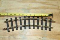 LGB 'G' NO. 1100 CURVE TRACK  1 piece, used, w/pins, (Shelf)