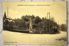 "CPA "" MARIGNY L'EGLISE - Le Monument aux Morts"
