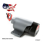**Milwaukee M12 Battery Adapter Dock with Soft Wires Power Wheels DIY Robotics**