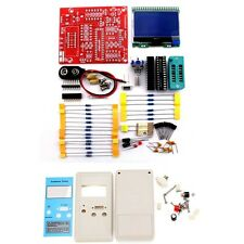 DIY M12864 Graphics Version Transistor Tester Kit LCR ESR PWM With Case