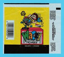 BUBBLE  GUM  WRAPPER  -  O-PEE-CHEE  -  WACKY  PACKAGES