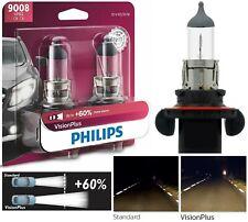 Philips VIsion Plus 60% 9008 H13 60/55W Two Bulbs Headlight Dual Beam Replace OE