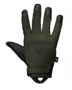 Strongsuit Q Series Enforcer Tac Tactical Gloves Sage Green YOU CHOOSE SIZE