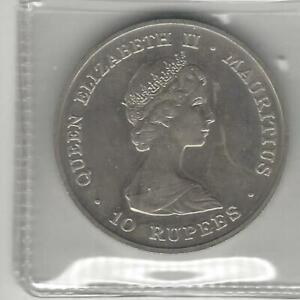 Mauritius  10 Rupees 1981, Royal Wedding-Prince Charles & Lady Diana, Crown Size