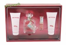 Hippie Chic by True Religion 4Pces Set Edt Spray  3.4/3.3 OZ / 100 ML New In Box