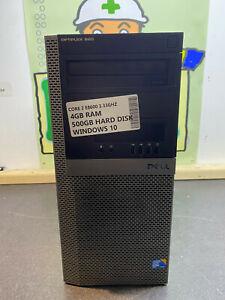 DELL OPTIPLEX 960 INTEL CORE 2 DUO E8600 3GHz 4GB 550GB Windows 7 Cheap TOWER UK