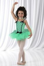 Mint Julep Dance Costume Ballerina Tap Dress Baby Tutu Clearance Child X-Large