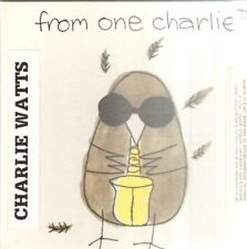 CD The Charlie Watts Quintet From One Charlie STILL SEALED, BOX NEW OVP