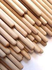 "NEW 1/4"" x 7-3/4"" Birch Wood Dowel Rods (28 count/order)"
