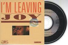 Joy I'm Leaving CD SINGLE (maxi card sleeve) carrere
