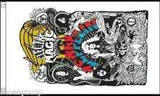 Led Zeppelin 5ft x 3ft (150cm x 90cm) Flag Banner