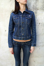 Zu Element's Women Denim Short jacket in Blue Western Cotton Slim 42 M 10/12