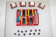 NEW ASSEMBLED CNC SHIELD EXPANSION BRD.V3 + 4PCS A4988 DRIVERS FOR ARDUINO