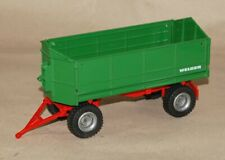 Siku Farmer 2967 1:32 WELGER Zweiseitenkipper - Kipper Anhänger grün rot