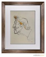 Marino MARINI Lithograph SIGNED Ltd EDITION - Marc CHAGALL, 1962 ++FRAMING 20x24