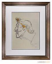 Marino MARINI Lithograph SIGNED Ltd EDITION - Marc CHAGALL, 1962 ++FRAMING 20x24