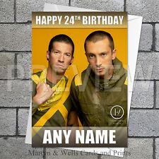 21 / Twenty One Pilots personalised birthday card. 5x7 inches.