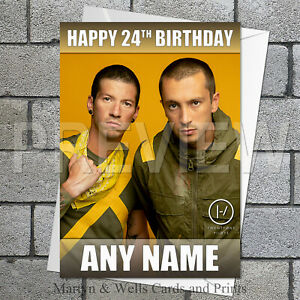 Twenty One Pilots birthday card. 5x7 inches. 21 Pilots card. Personalised.