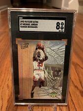 1993-94 Fleer Ultra #7 Michael Jordan Famous Nicknames SGC 8 NM-MT