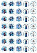 Frozen inspired Labels Stickers Elsa Olaf for Party bags, sweet cones, seals