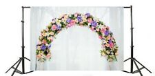 Wedding Flower Arch Door Photography Background 7x5ft Photo Shoot Backdrop Props