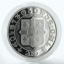 Georgia 10 lari 2000th Anniversary of Birth of Christ cupro-nickel coin 2000