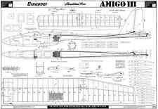GRAUPNER AMIGO MK3 GLIDER PLANS