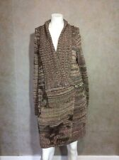 JL ESCADA SPORT LONG SWEATER DRESS CARDIGAN SIZE SMALL