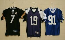 Youth Size 14-16 Football Jerseys Pittsburgh Steelers Dallas Cowboys NY Giants