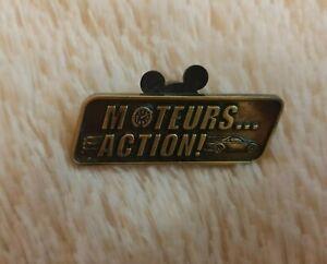 Moteurs... Action! Bronze Disney Trading Pin DLRP RARE IN UK