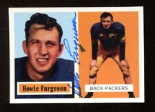 Howie Furgeson Signed 1994 Topps 1957 Archives Football Card Autographed Packers