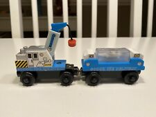 Thomas & Friends Wooden Railway Train Sodor Ice Delivery Set 2003 Learning Curve