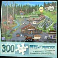 """""""Dungeness Lavender"""" 300-Piece Jigsaw Puzzle - Sealed country forest farm"""