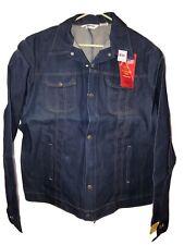 Key Imperial denim jean jacket Nos vintage Nwt regular tall or big sizes