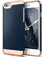 iPhone 6S Case, Caseology [Savoy Series] Slim Two-Piece Slider [Navy Blue] Rose