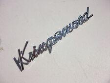 NEW **AUSTRALIAN MADE** KINGSWOOD GUARD BONNET BOOT LID BADGE TO HK HT HG HOLDEN